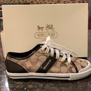 Brown Coach Sneaker